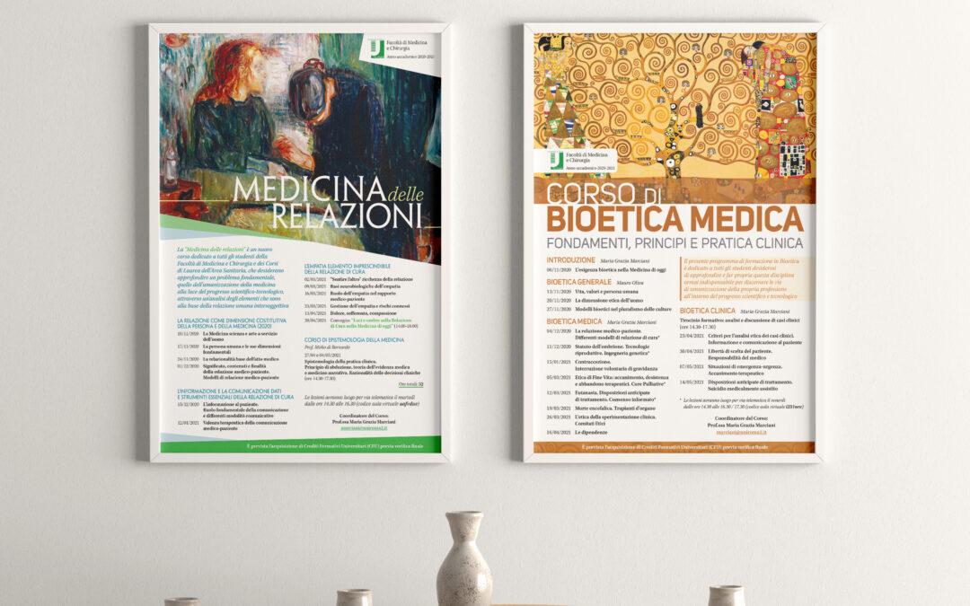Locandine per incontri sulla bioetica