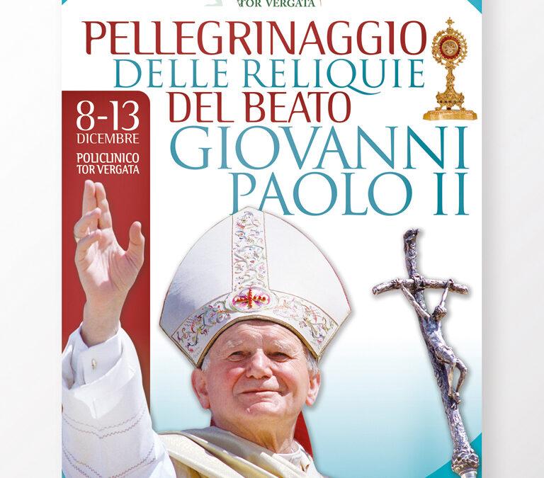 Pellegrinaggio delle reliquie di san Giovanni Paolo II