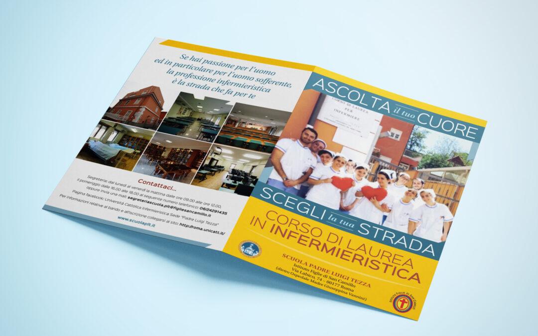 Brochure per il corso di laurea in Infermieristica