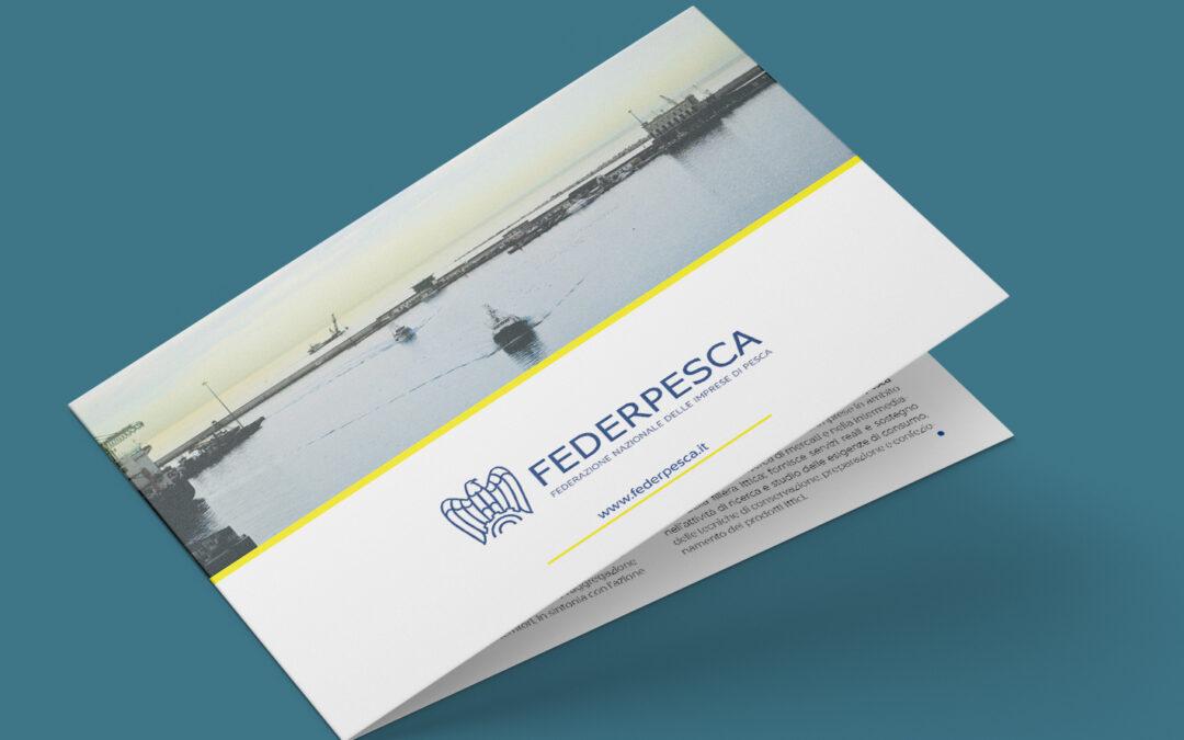 Locandine e brochure Federpesca